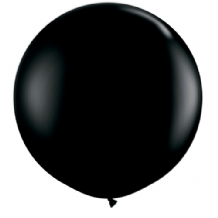 3ft Giant Balloons - Black Latex Balloon 1pc